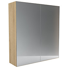 Buy John Lewis Leben 2 Door 200cm Mirrored Sliding Wardrobe Online at johnlewis.com
