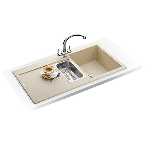 Franke Sinks Ireland : Buy Franke Maris MRG 651 1.5 Bowl Kitchen Sink Online at johnlewis.com