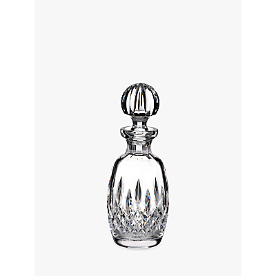 Waterford Lismore Connoisseur Rounded Crystal Decanter