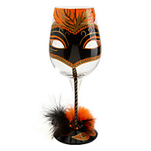 Buy Lolita Masquerade Wine Glass Online at johnlewis.com