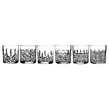 Buy Waterford Lismore Connoisseur Straight Sided Crystal Glasses, Set of 6 Online at johnlewis.com