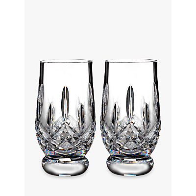 Waterford Lismore Connoisseur Crystal Whisky Tasting Tumblers, Set of 2