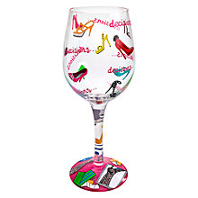 Buy Lolita Stiletto Wine Glass, Multi Online at johnlewis.com