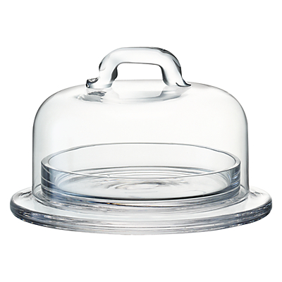 LSA International Butter Dish, Clear