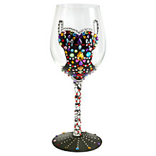Buy Lolita Quiet Night In Wine Glass Online at johnlewis.com