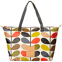 Buy Orla Kiely Classic Multi Stem Zip Shopper, Multi Online at johnlewis.com