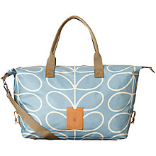 Buy Orla Kiely Matte Laminated Giant Linear Stem Holdall Online at johnlewis.com