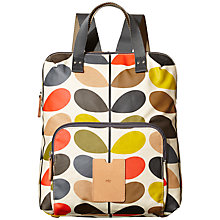 Buy Orla Kiely Classic Multi Stem Print Backpack Tote, Multi Online at johnlewis.com