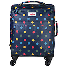Buy Cath Kidston Button Spot 4-Wheel 50cm Cabin Suitcase, Blue/Multi Online at johnlewis.com