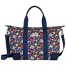 Buy Cath Kidston Paradise Fields Foldaway Overnight Bag, Indigo Online at johnlewis.com