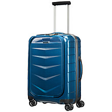 "Buy Samsonite Lite-Biz 4-Wheel 55cm 16.4"" Laptop Cabin Suitcase Online at johnlewis.com"