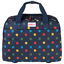 Buy Cath Kidston Button Spot Wheeled Business Bag, Blue/Multi Online at johnlewis.com