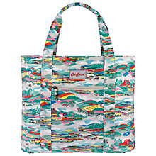Buy Cath Kidston Beacon View Open Carry-All Bag, Cream Online at johnlewis.com