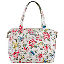 Buy Cath Kidston Rainbow Rose Large Shoulder Bag, Chalk Online at johnlewis.com