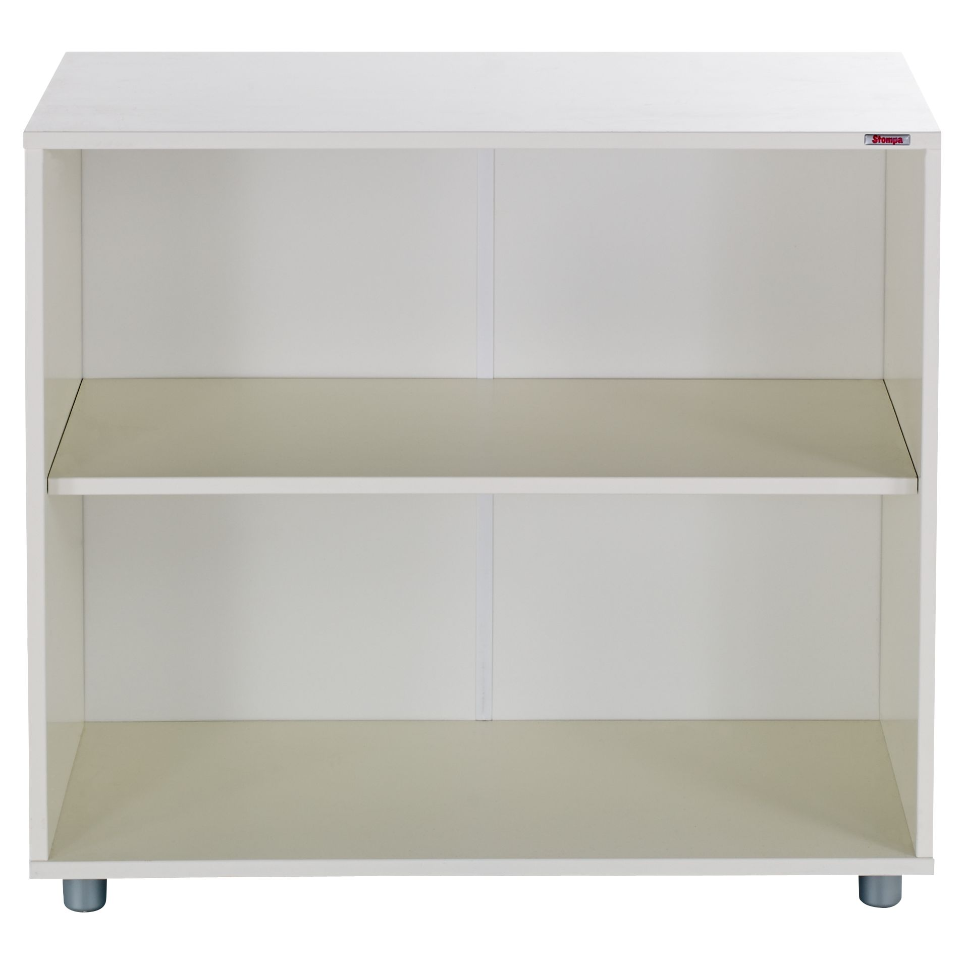 Stompa Stompa Uno S Plus Bookcase, White