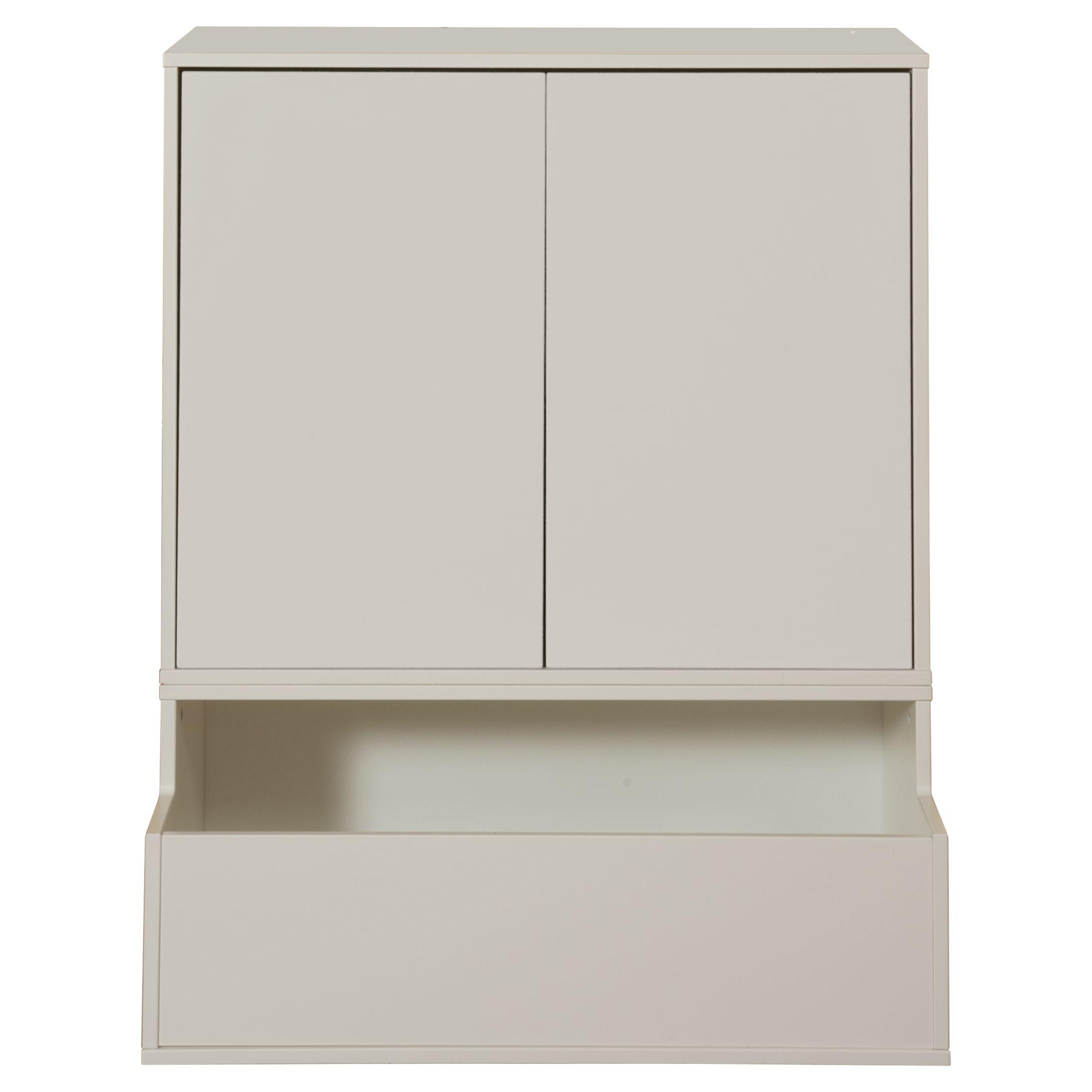 Stompa Stompa Uno S Plus 2 Door Storage Combination, White