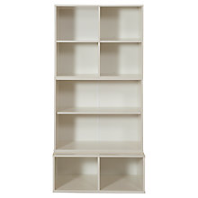 Buy Stompa Uno S Plus Tall 3 Unit Storage Combination, White Online at johnlewis.com