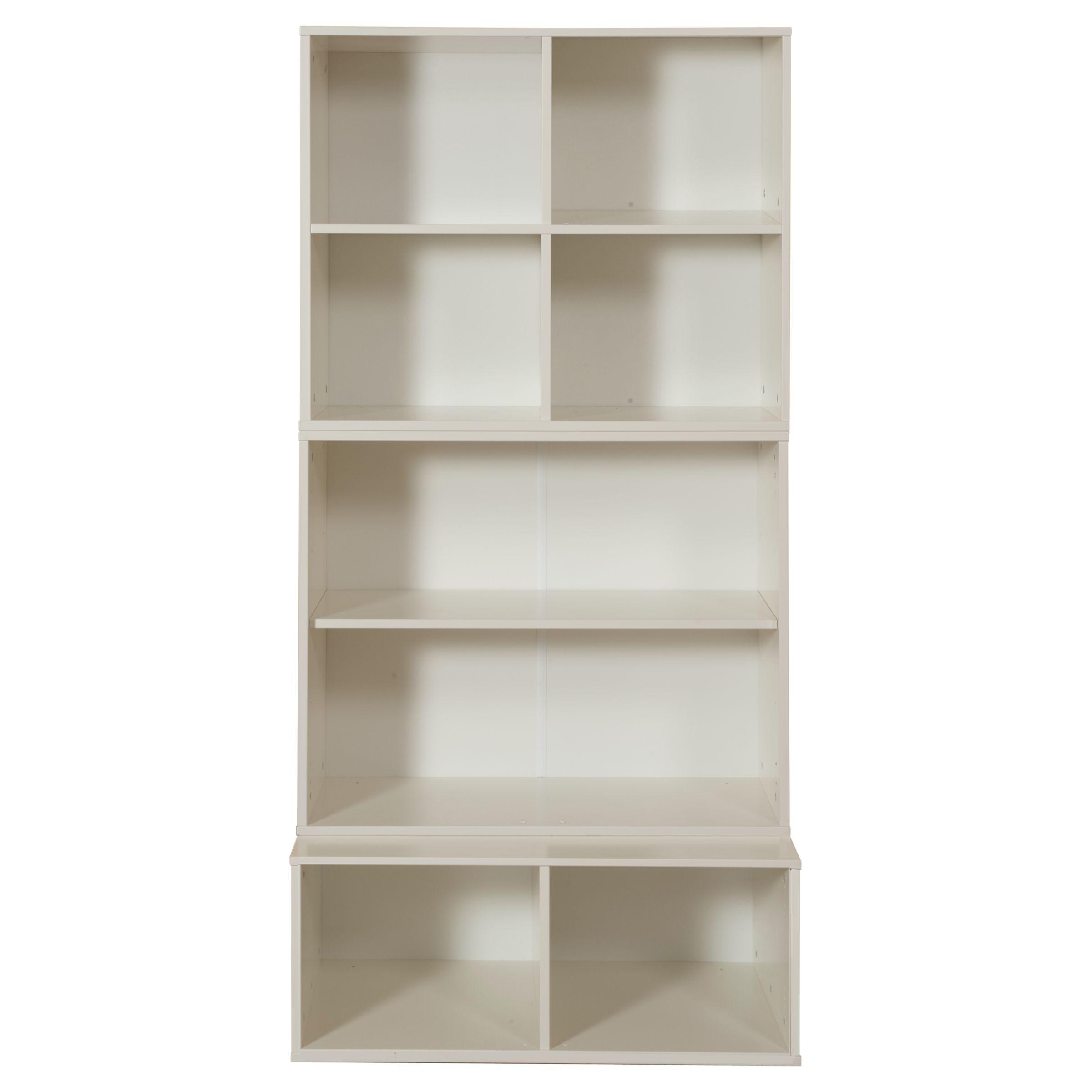 Stompa Stompa Uno S Plus Tall 3 Unit Storage Combination, White