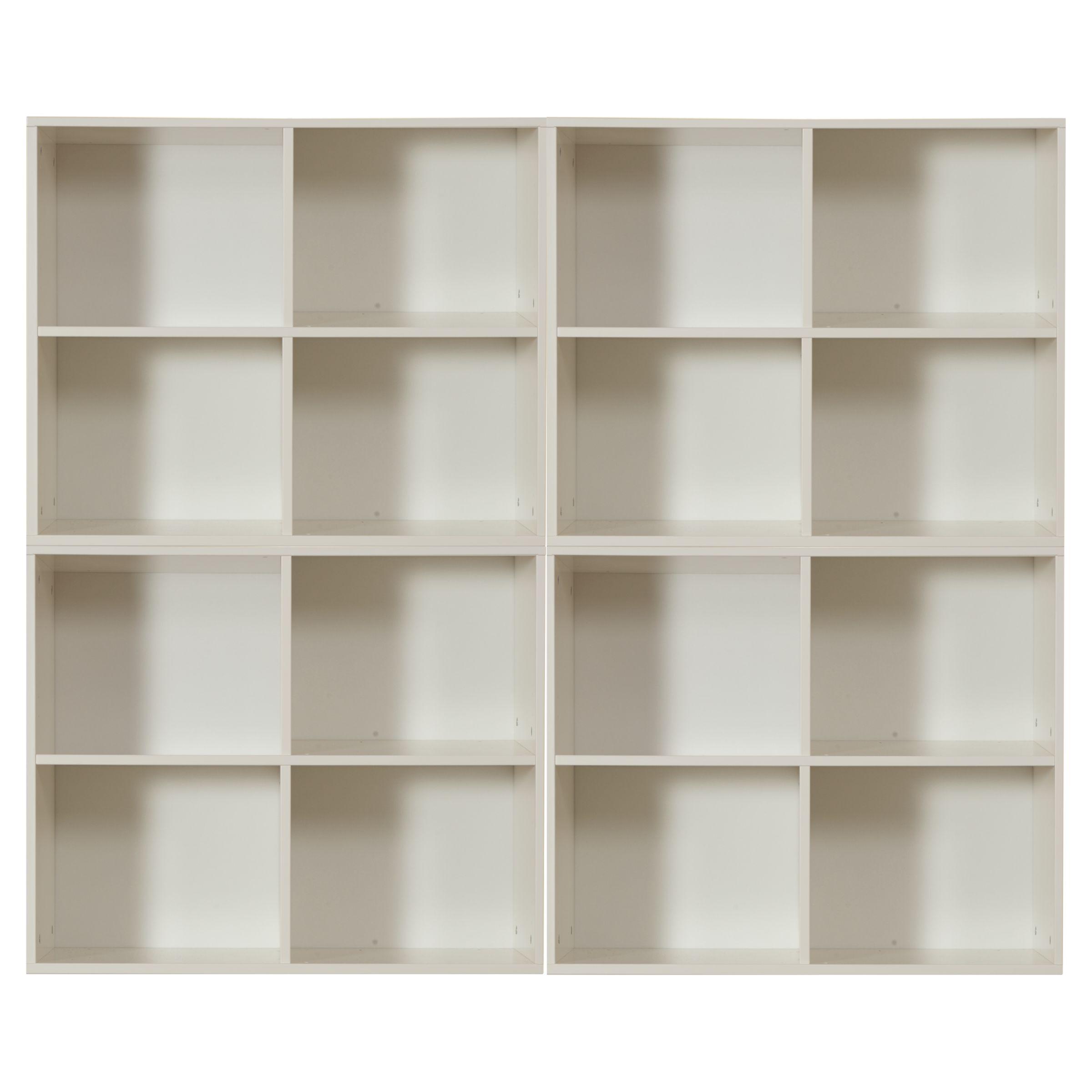 Stompa Stompa Uno S Plus 4 Unit Storage Combination, White