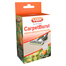 Buy Vax CarpetBurst Citrus Burst Scented Vacuum Granules Online at johnlewis.com