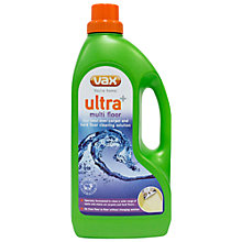 Buy Vax Ultra+ Multi-Floor Carpet and Hardfloor Cleaning Solution, 1.5L Online at johnlewis.com