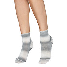 Buy Jonathan Aston Granite Ankle Socks, Grey Online at johnlewis.com