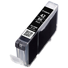 Buy Canon CLI-42 Ink Cartridge, Black Online at johnlewis.com