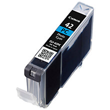 Buy Canon CLI-42 Colour Photo Ink Cartridge Online at johnlewis.com