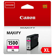 Buy Canon PGI-1500XL Colour Ink Cartridge Online at johnlewis.com