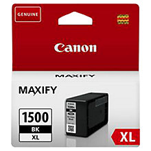 Buy Canon PGI-1500XL Black Ink Cartridge Online at johnlewis.com