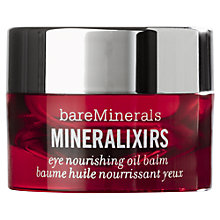Buy bareMinerals Mineralixirs™ Eye Nourishing Oil Balm, 8.5g Online at johnlewis.com