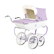 Buy Silver Cross Snow Fairy Doll's Pram, Lilac Online at johnlewis.com