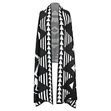 Buy Paisie Large Aztec Scarf, Black/White Online at johnlewis.com