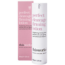 Buy This Works Perfect Cleavage Firming Lotion, 60ml Online at johnlewis.com