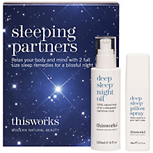 Buy This Works Sleeping Partners Gift Set Online at johnlewis.com