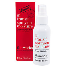 Buy This Works In Transit Spray-On Moisture, 100ml Online at johnlewis.com