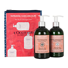 Buy L'Occitane Aromachology Repairing Shampoo & Conditioner Online at johnlewis.com