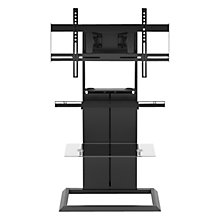 "Buy BDI TOTEM 9930 TV Stand for TV's up to 70"", Black Online at johnlewis.com"