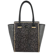 Buy Paul's Boutique Mila Tote Bag, Black/Grey Online at johnlewis.com