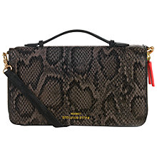Buy Paul's Boutique Pandora Clutch Bag, Grey Online at johnlewis.com