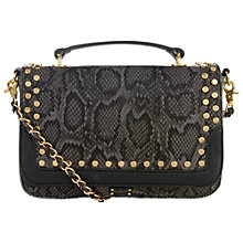 Buy Paul's Boutique Nicole Small Across Body Bag, Black/Grey Online at johnlewis.com