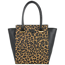 Buy Paul's Boutique Mila Tote Bag, Leopard Online at johnlewis.com