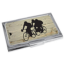 Buy TYLER & TYLER Racer Metal Card Holder, White Brick Online at johnlewis.com