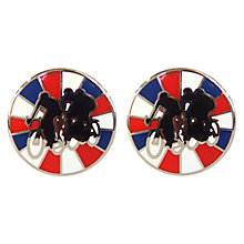 Buy TYLER & TYLER Signature Racer Cufflink Set, Multi Online at johnlewis.com