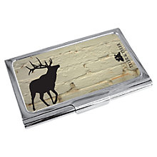 Buy TYLER & TYLER Stag Metal Card Holder, White Brick Online at johnlewis.com