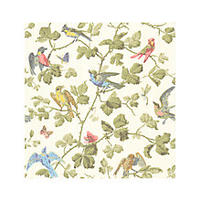 Buy Cole & Son Winter Birds Wallpaper Online at johnlewis.com