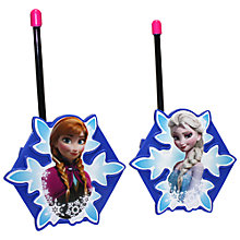 Buy Disney Frozen Walkie Talkies Online at johnlewis.com
