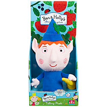 Buy Ben & Holly Talking Plush, Assorted Online at johnlewis.com