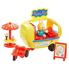 Buy Peppa Pig Holiday Ice Cream Van Online at johnlewis.com