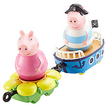 Buy Peppa Pig Weebles Mini Boat, Assorted Online at johnlewis.com